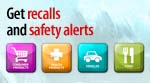 Get recall and safety alerts
